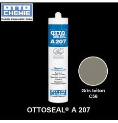 OTTOSEAL A207 mastic acrylique standart gris béton
