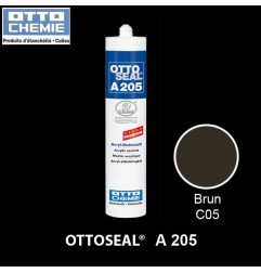 OTTOSEAL A205 C05 mastic acrylique premium brun