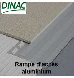 Rampe d'accès aluminium anodisé naturel 20 mm