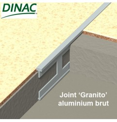Joint Granito aluminium brut 4 x 30