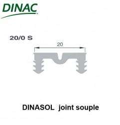 Dinasol 20/0 S joint souple 20 mm gris strié