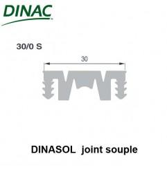 Dinasol 30/0 S joint souple 30 mm gris strié