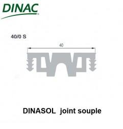 Dinasol 40/0 S joint souple 40 mm gris strié