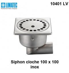 10401 LV Siphon cloche inox 100 x 100