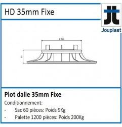 Plot DH35 hauteur fixe 35 mm pour dalle