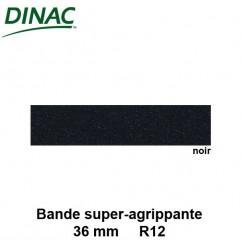 Bande super agrippante adhésive noire 36 mm