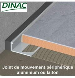 Joint de mouvement périphérique aluminium MJO-AL 12,5 mm