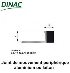 Joint de mouvement périphérique laiton MJO-AL 8 mm