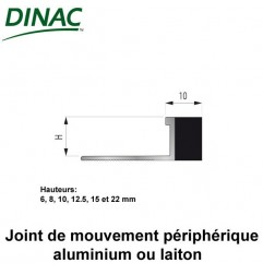 Joint de mouvement périphérique laiton MJO-AL 12,5 mm