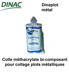 Colle Dinaplot métal méthacrylate bi-composant