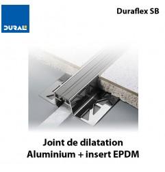 Joint de dilatation Duraflex SB hauteur 15 mm largeur 37 mm insert noir