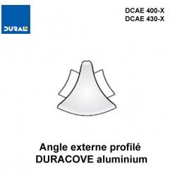 Angle externe DURACOVE aluminium anodisé argent