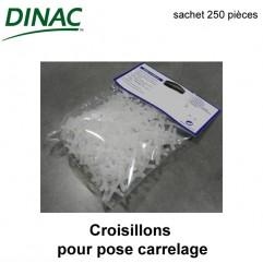 Croisillons 2 mm sachet 250 pièces