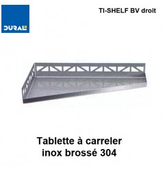 Tablette à carreler quadrilatère TI-SHELF BV droit