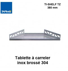Tablette à carreler trapézoïdale TI-SHELF TZ 380 x 175 mm