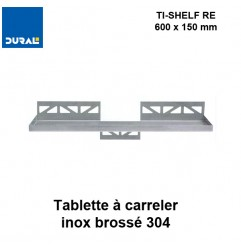 Tablette à carreler rectangulaire TI-SHELF RE 600x150 mm