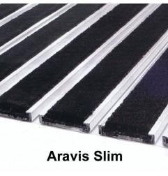 Tapis Aravis Slim 12 mm grattant/séchant structure fermée