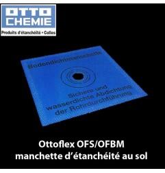 Ottoflex OFS/OFBM manchette d'étanchéité au sol dim. 42.5 x 42.5 cm