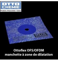 Ottoflex OFS/OFBM manchette d'étanchéité à zone de dilatation dim. 12 x 12 cm