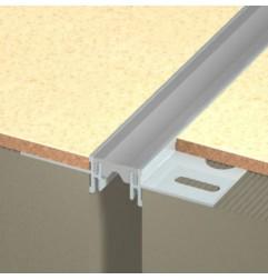 Joint de dilatation DINA-PES 1/266 Flat pour pose collée charge légère et moyenne. Hauteur 10.5 ou 13.5 mm
