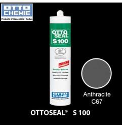 OTTOSEAL S100 C67 mastic silicone premium anthracite
