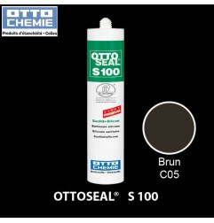 OTTOSEAL S100 C05 mastic silicone premium brun
