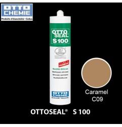 OTTOSEAL S100 C09 mastic silicone premium caramel